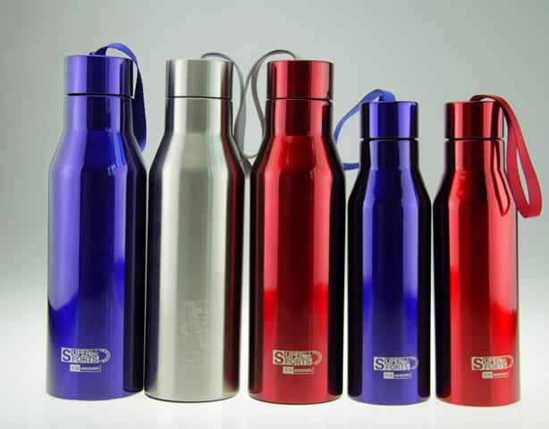 Stainless Steel Double Wall Sports Water Bottle