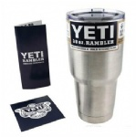 Yeti 30 oz cars beer mug