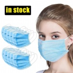 Disposable Face Masks 3-Layer Dustproof Mouth Anti PM2.5 Safety Masks