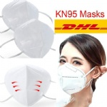 KN95 Face Mask N95 Masks Non-woven Fabric Dustproof Windproof Respirator Anti-Fog PM2.5 Designer face masks