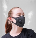 Reusable Breathing Valve Masks Anti-allergic and Dust Mask with Washable Unisex Sponge Dustproof PM2.5 Pollution Half Face Mouth KN95 Masks