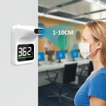 Handsfree quick measurement digital infrared wall mounted thermometer