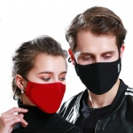 Cotton PM2.5 Mouth Anti Dust Face Mask with Activated Carbon Filter